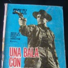 Tebeos: SIOUX. UNA BALA CON NOMBRE - SALVADOR DULCET Y A. FONT (TORAY SIOUX Nº 39, 1965). TIPPI HEDREN FOTO.. Lote 145993966