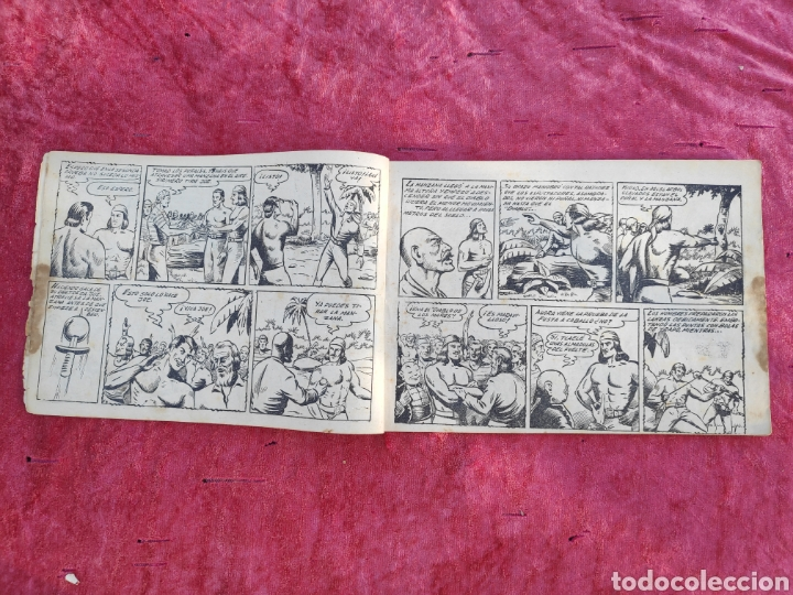 Tebeos: LOTE DE 7 TEBEOS - EL DIABLO DE LOS MARES - Nº 1 VOLUMENES : I-II-III-IV-VI-XVII-XIX - ORIGINALE - Foto 7 - 146223800