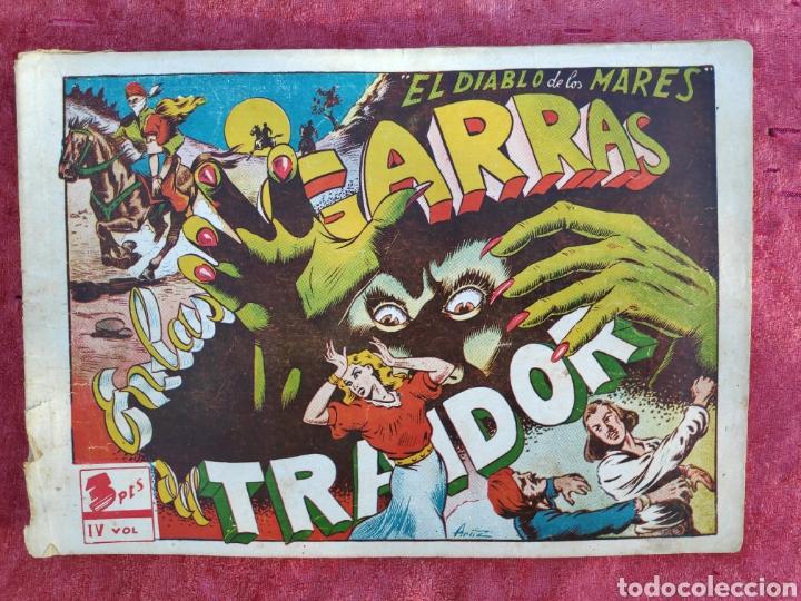 Tebeos: LOTE DE 7 TEBEOS - EL DIABLO DE LOS MARES - Nº 1 VOLUMENES : I-II-III-IV-VI-XVII-XIX - ORIGINALE - Foto 14 - 146223800
