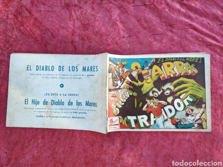 Tebeos: LOTE DE 7 TEBEOS - EL DIABLO DE LOS MARES - Nº 1 VOLUMENES : I-II-III-IV-VI-XVII-XIX - ORIGINALE - Foto 17 - 146223800