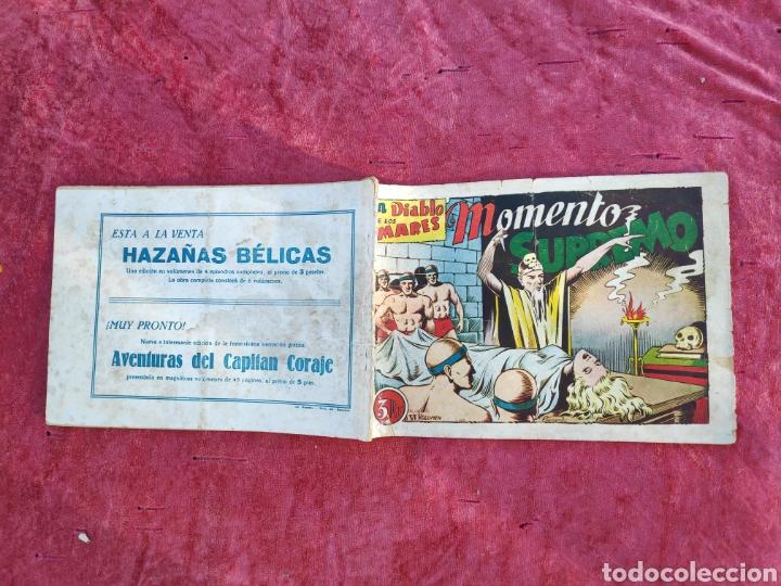 Tebeos: LOTE DE 7 TEBEOS - EL DIABLO DE LOS MARES - Nº 1 VOLUMENES : I-II-III-IV-VI-XVII-XIX - ORIGINALE - Foto 21 - 146223800