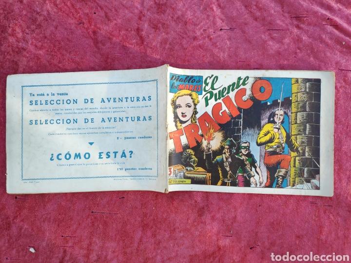 Tebeos: LOTE DE 7 TEBEOS - EL DIABLO DE LOS MARES - Nº 1 VOLUMENES : I-II-III-IV-VI-XVII-XIX - ORIGINALE - Foto 25 - 146223800