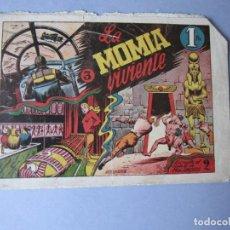 Tebeos: VUELTA AL MUNDO DE DOS MUCHACHOS, LA (1947, TORAY) 3 · 1947 · LA MOMIA VIVIENTE. Lote 146661170