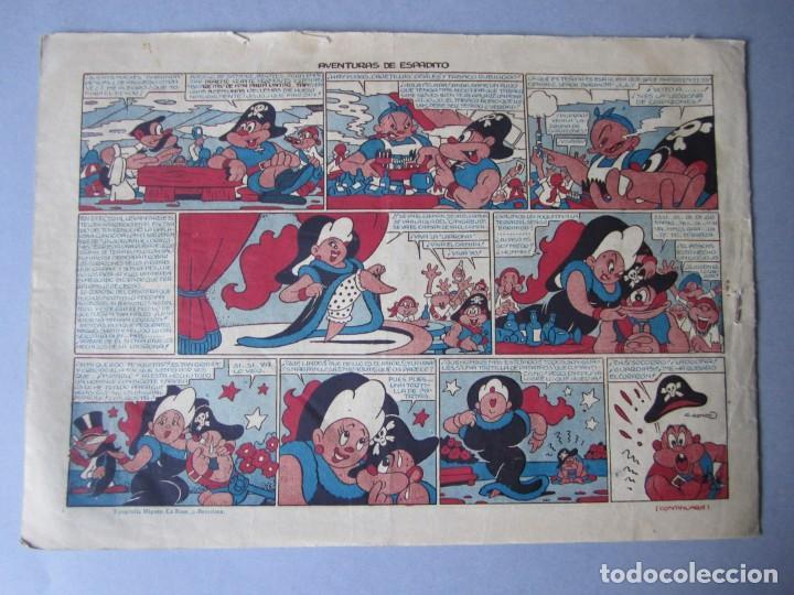 Tebeos: CAPITAN CORAJE, EL (1946, PARA NIÑOS / TORAY) 25 · 1947 · ¡PRISIONERO! - Foto 2 - 146666514