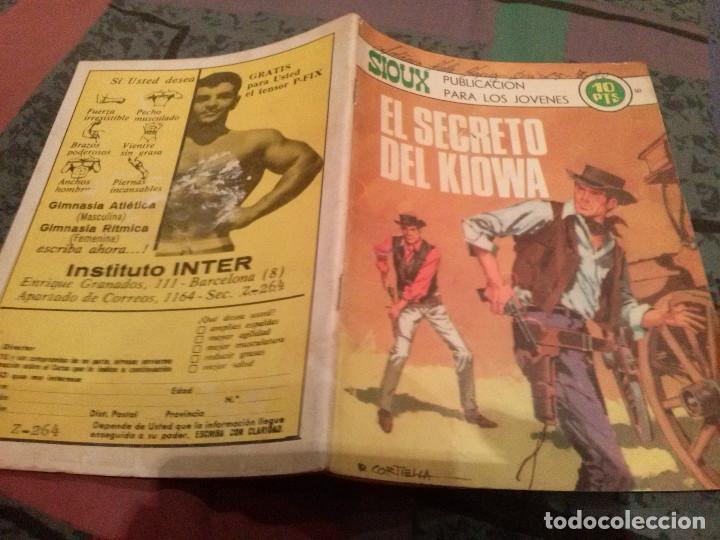 SIOUX Nº161- EL SECRETO DE KIOWA - MUY DIFICIL (Tebeos y Comics - Toray - Sioux)