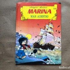 Tebeos: MARINA, MAR ADENTRO. CORTEGGIANI - TRANCHAND. LAS AVENTURAS DE MARINA. EDICIONES TORAY 1987.. Lote 146854538
