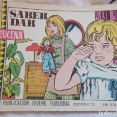 Tebeos: REVISTA JUVENIL FEMENINA AZUCENA AÑO 1970 NUM 1143- SABER DAR. Lote 146954602