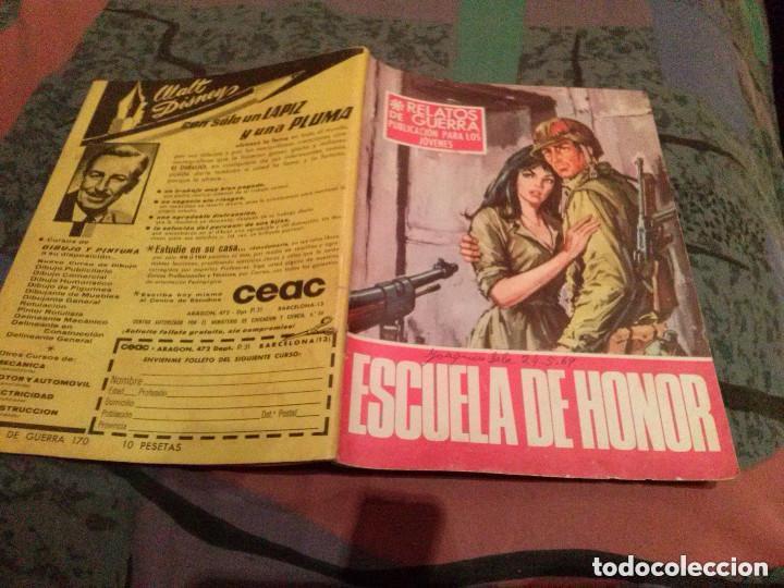 RELATOS DE GUERRA - Nº 170 - ESCUELA DE HONOR - EDICIONES TORAY - AÑO 1969. (Tebeos y Comics - Toray - Otros)