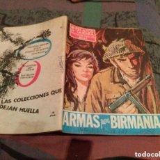 Tebeos: RELATOS DE GUERRA. Nº 161. ARMAS PARA BIRMANIA. 1968. EDICIONES TORAY. Lote 147036246