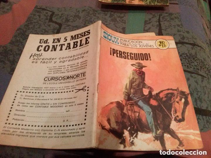 SIOUX Nº 175 - PERSEGUIDO-EDITORIAL TORAY - 1970 (Tebeos y Comics - Toray - Sioux)