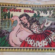 Tebeos: REVISTA JUVENIL FEMENINA AZUCENA NUM 233- EL CISNE ROSA. Lote 147098470