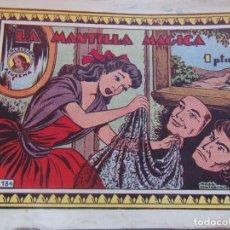 Tebeos: REVISTA JUVENIL FEMENINA AZUCENA NUM 184- LA MANTILLA MÁGICA. Lote 147100202