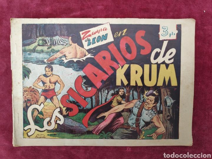 TEBEO ZARPA DE LEON - LOS SICARIOS DE KRUM- ALBUM II- ORIGINAL (Tebeos y Comics - Toray - Zarpa de León)