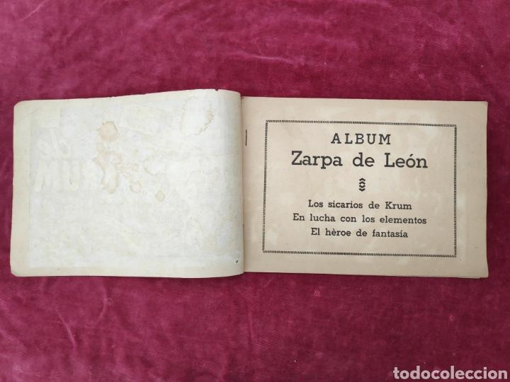 Tebeos: TEBEO ZARPA DE LEON - LOS SICARIOS DE KRUM- ALBUM II- ORIGINAL - Foto 2 - 147148852