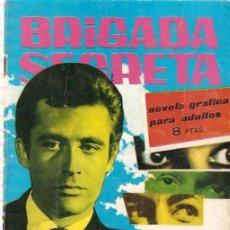 Tebeos: BRIGADA SECRETA- Nº 23 -1963-ENSAYO GENERAL-GRAN VICENTE FARRES-BUENO-DIFÍCIL-LEAN-9986. Lote 147231670