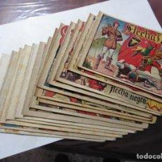 BDs: FLECHA NEGRA Nº 2 CUADERNILLOS TORAY 1949 ORIGINALES. Lote 147460234