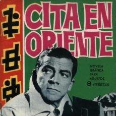 Tebeos: ESPIONAJE - Nº 8 -CITA EN ORIENTE- GRAN ANTONIO P. CARRILLO-1965-MUY BUENO- ESCASO-LEAN-0010. Lote 147535366