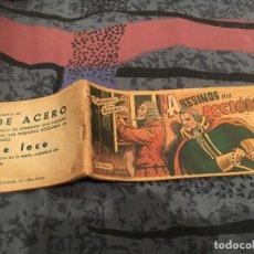 Tebeos: HOMBRES DE ACERO Nº8 ASESINOS EN ACCION - EDICIONES TORAY 1951 -ORIGINAL UNA JOYA DE COLECCIOMISTAS. Lote 147575854