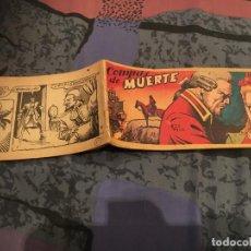 Tebeos: HOMBRES DE ACERO Nº15 COMPAS DE MUERTE - EDICIONES TORAY 1951 FALTA CONTRAPORTADA . Lote 147578130