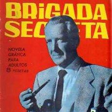 Tebeos: BRIGADA SECRETA - Nº 124 - LA MALDICIÓN DE TUTMÉS -GRAN JAIME RUMEU-1965-M. BUENO-DIFÍCIL-LEAN-0113. Lote 148977124