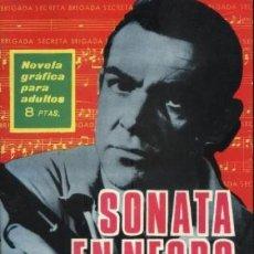 Tebeos: BRIGADA SECRETA - Nº 154- SONATA EN NEGRO MAYOR-GRAN JORGE BADÍA-1966-BUENO-DIFÍCIL-LEAN-0035. Lote 147654718