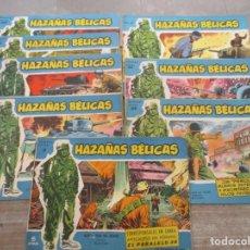 Tebeos: LOTE HAZAÑAS BELICAS - 9 EJEMPLARES - SERIE AZUL EXTRA - BOIXCAR - TORAY. Lote 147681246
