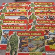 Tebeos: LOTE HAZAÑAS BELICAS -11 EJEMPLARES - SERIE ROJA EXTRA - BOIXCAR -TORAY. Lote 147681742
