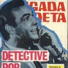 Tebeos: BRIGADA SECRETA - Nº 170 -DETECTIVE POR NARICES-GRAN J.A. HUÉSCAR-1966-BUENO-DIFÍCIL-LEAN-0039. Lote 147718762