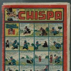 Tebeos: CHISPA Nº 11 - TORAY 1947 - ORIGINAL - IRANZO, AYNE, COLL, ETC. . - RARO DE VER Y DIFICIL - VER DESC. Lote 147761402