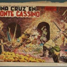 Tebeos: HAZAÑAS BELICAS SEGUNDA SERIE Nº 31 - UNA CRUZ EN MONTE CASSINO - TORAY 1951 - ORIGINAL. Lote 147880542