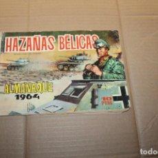 Tebeos: HAZAÑAS BÉLICAS ALMANAQUE 1964, EDITORIAL TORAY. Lote 148049990