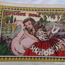 Tebeos: REVISTA JUVENIL FEMENINA AZUCENA NUM 233- EL CISNE ROSA. Lote 148109266