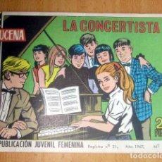Tebeos: AZUCENA – REVISTA JUVENIL FEMENINA- AÑO 1967 Nº 1005 LA CONCERTISTA BUEN ESTADO. Lote 148161066
