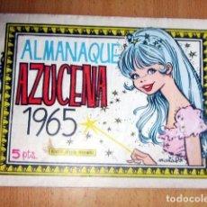 Tebeos: AZUCENA ALMANAQUE 1965 EN MUY BUEN ESTADO. Lote 148165558