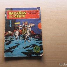 Tebeos: HAZAÑAS DEL OESTE Nº 214, NOVELA GRÁFICA, EDITORIAL TORAY. Lote 148575482