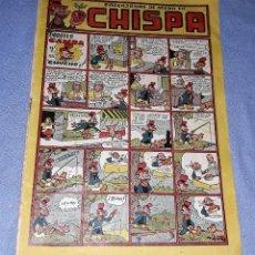 Tebeos: CHISPA Nº 10 EDICIONES TORAY AÑO 1947 ORIGINAL VER FOTOS Y DESCRIPCION. Lote 148685042