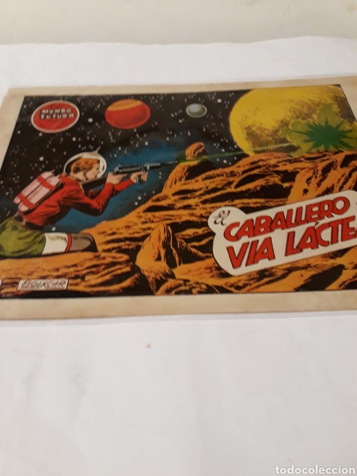 EL MUNDO FUTURO N 33 EL CABALLERO DE LA VIA LACTEA TORAY ORIGINAL (Tebeos y Comics - Toray - Mundo Futuro)