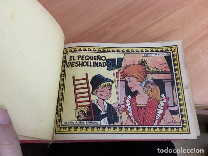 AZUCENA LOTE TOMO CON Nº 510 AL 560 CON PORTADILLAS (ORIGINAL TORAY) (COIM20) (Tebeos y Comics - Toray - Azucena)