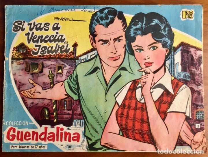 GUENDALINA, 19 (TORAY) CONTRAPORTADA FERNANDO LAMAS (Tebeos y Comics - Toray - Guendalina)