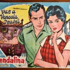 Tebeos: GUENDALINA, 19 (TORAY) CONTRAPORTADA FERNANDO LAMAS. Lote 149905590