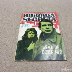 Tebeos: COMICS....NOVELAS GRAFICAS.....BRIGADA SECRETA....ARMA DE DOBLE FILO.....TORAY....1963.... Lote 149980998