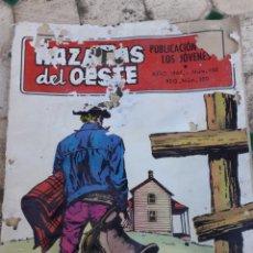 Tebeos: EDICIONES TORAY.LOTE DE 2 COMICS Y TAPA.HAZAÑAS DEL OESTE. AÑO 1967.NUM.150. EL APESTADO. 5 PTAS.. Lote 150216653
