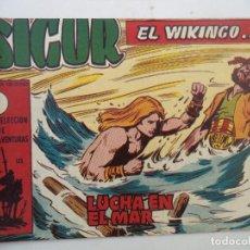 Tebeos: SIGUR EL VIKINGO Nº 26 ORIGINAL. Lote 150554194