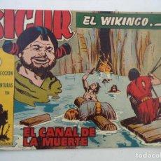 Tebeos: SIGUR EL VIKINGO Nº27 ORIGINAL. Lote 150554302