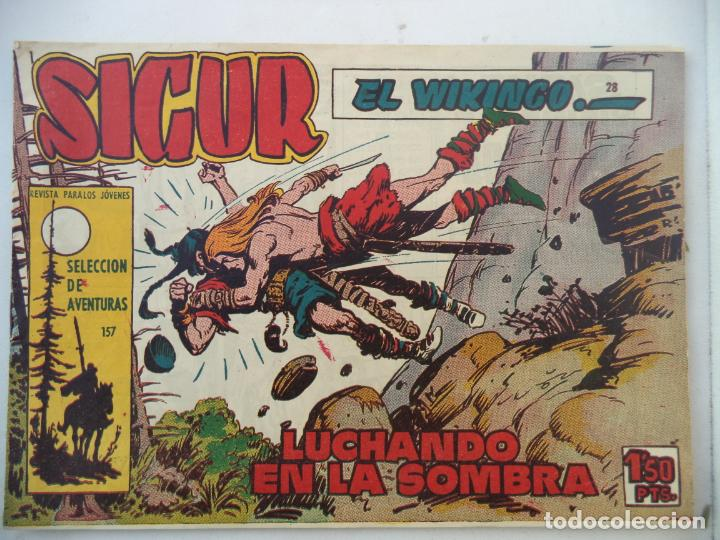 SIGUR EL VIKINGO Nº 28ORIGINAL (Tebeos y Comics - Toray - Otros)