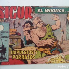 Tebeos: SIGUR EL VIKINGO Nº29 ORIGINAL. Lote 150555286