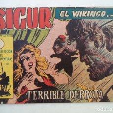 Tebeos: SIGUR EL VIKINGO Nº 31 ORIGINAL. Lote 150556502