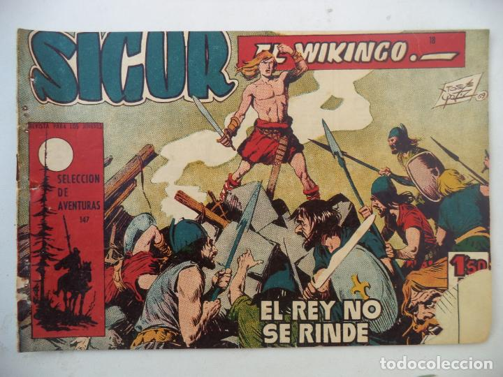 SIGUR EL VIKINGO Nº18 ORIGINAL (Tebeos y Comics - Toray - Otros)