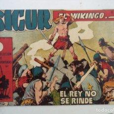 Tebeos: SIGUR EL VIKINGO Nº18 ORIGINAL. Lote 150567690