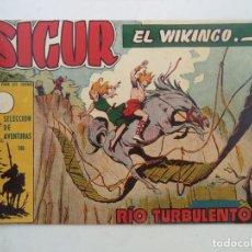 Tebeos: SIGUR EL VIKINGO Nº 19 ORIGINAL. Lote 150569202